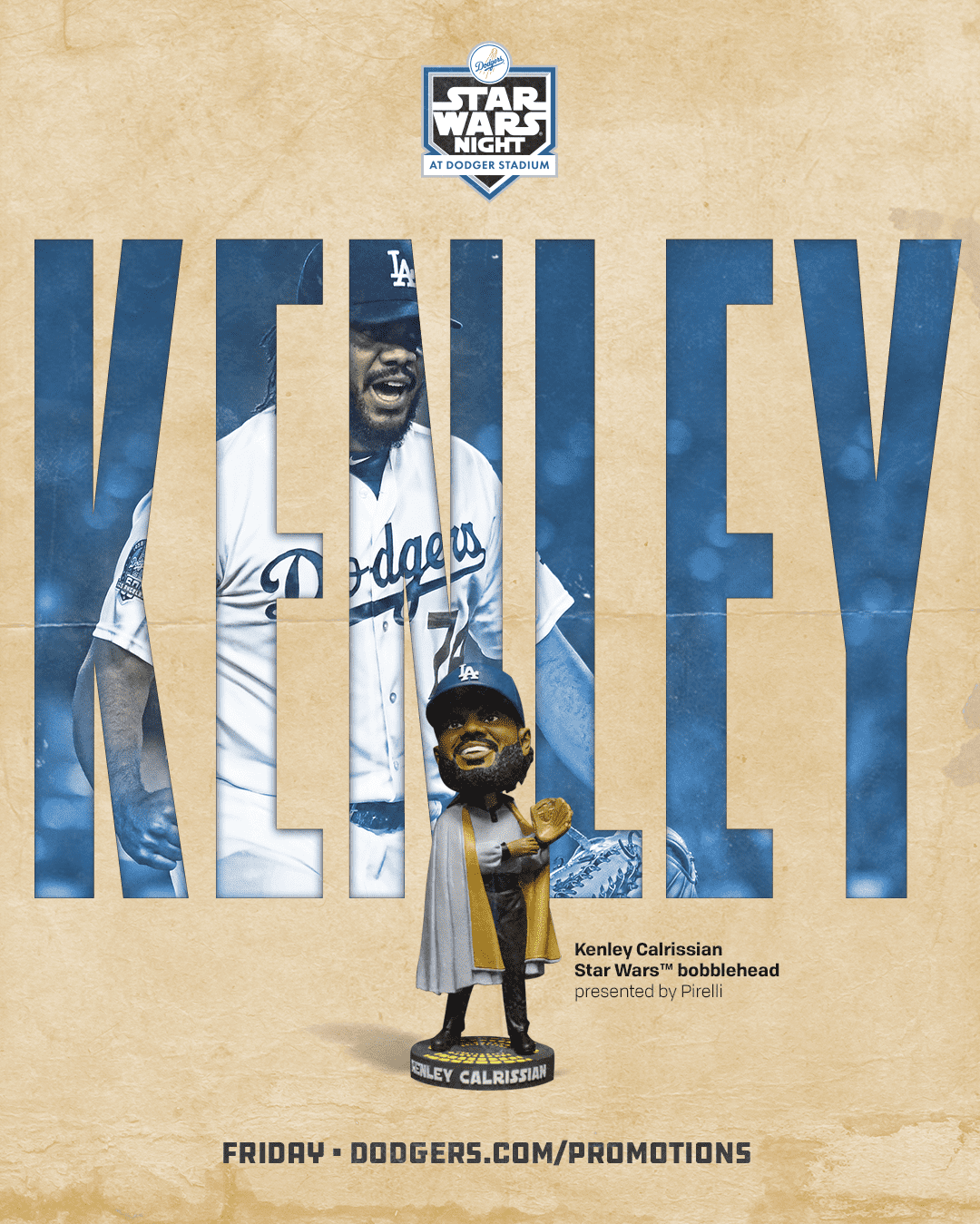 Los Angeles Dodgers SOLO movie poster inspiration